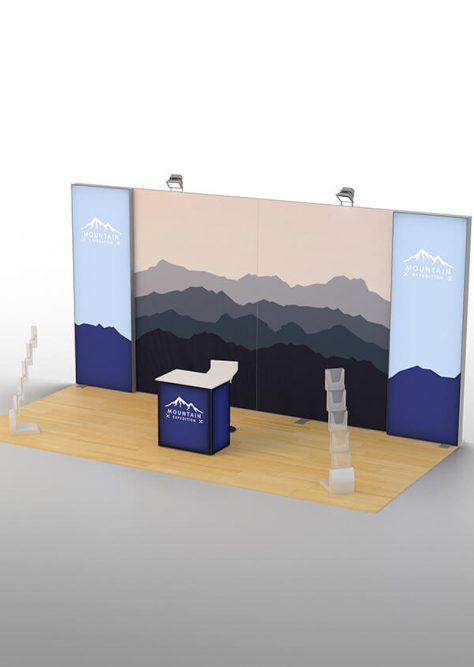 Exhibition booth medium 01