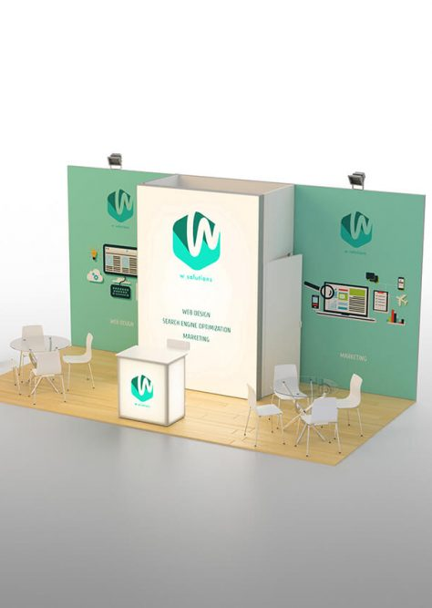Exhibition booth medium 03