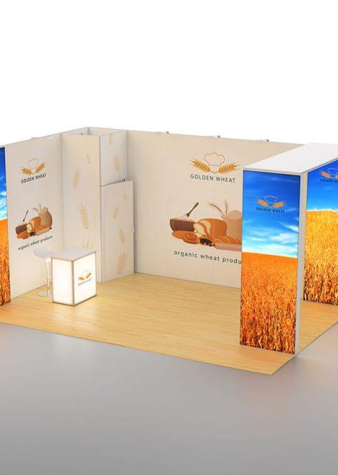 Exhibition booth medium 06