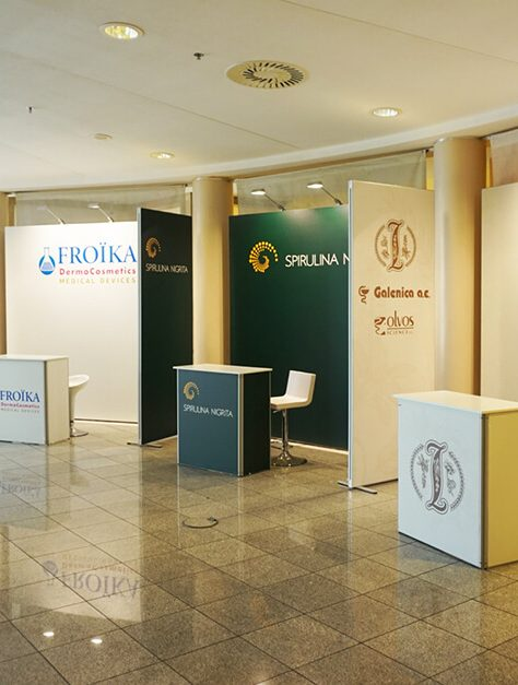 Exhibition stands EKINA