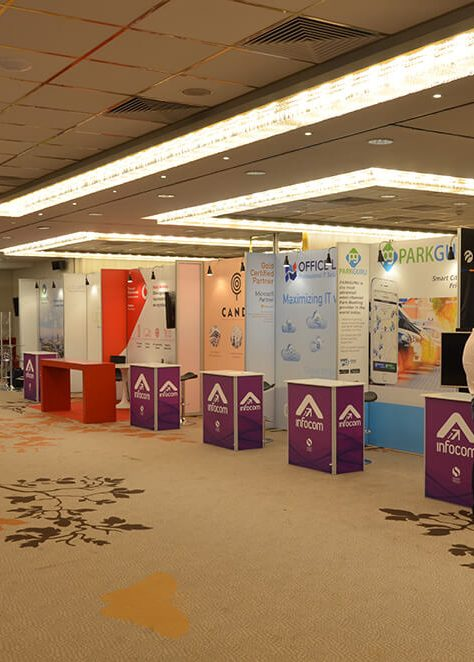 Exhibition stands SMART PRESS