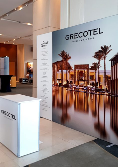 GRECOTEL booth